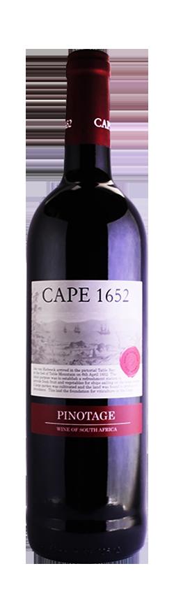 开普1652皮诺塔吉干红葡萄酒
